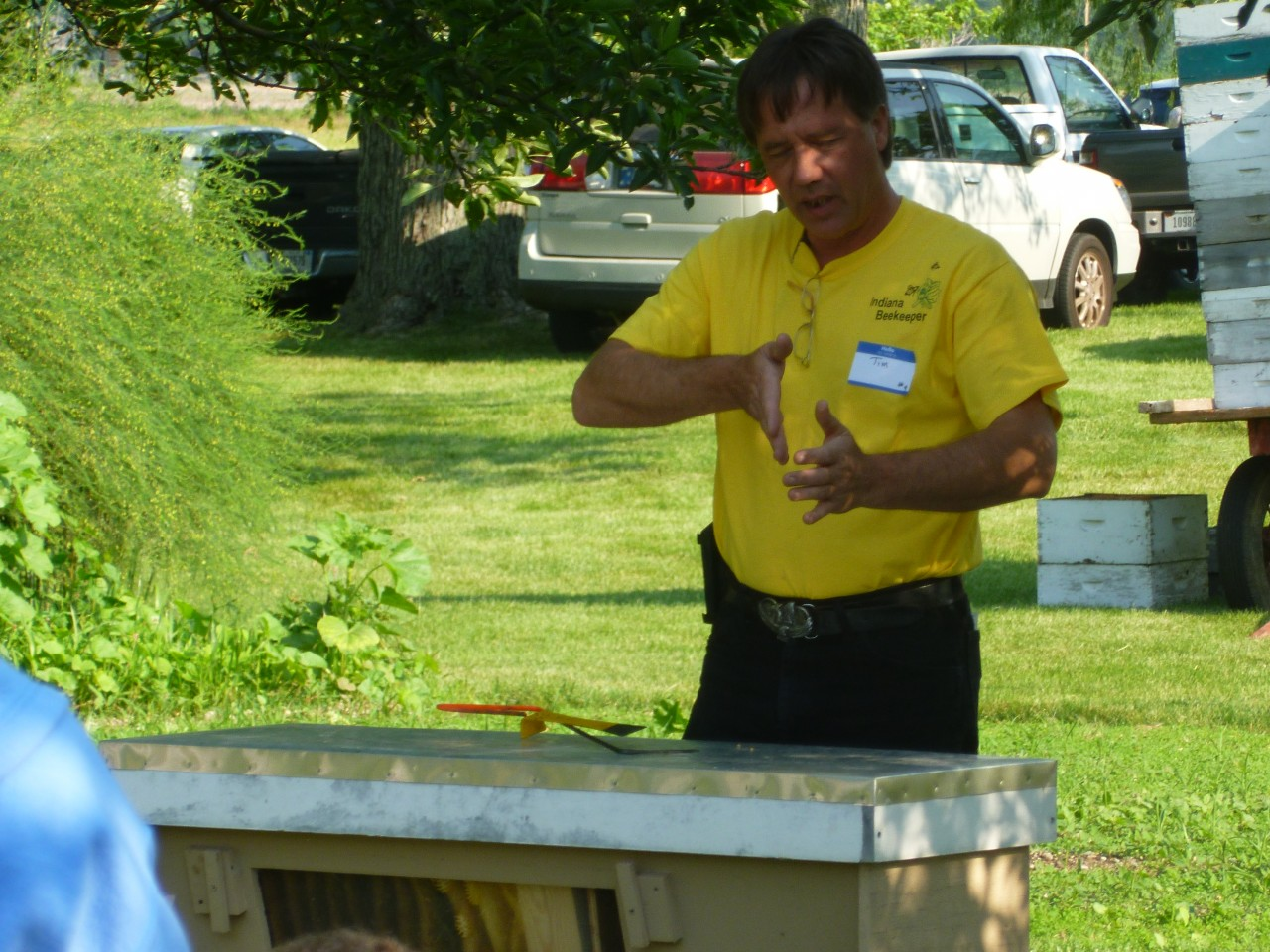Top Bar Hive Demonstration